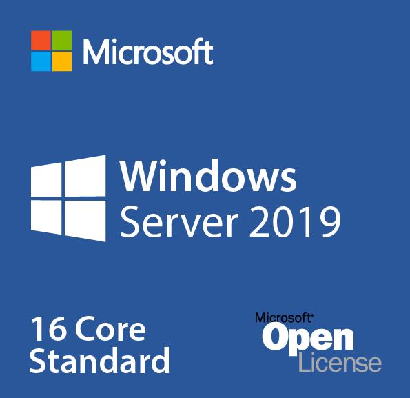 Microsoft Windows Server Standard 2019OLP 16Lic 9EM-00652