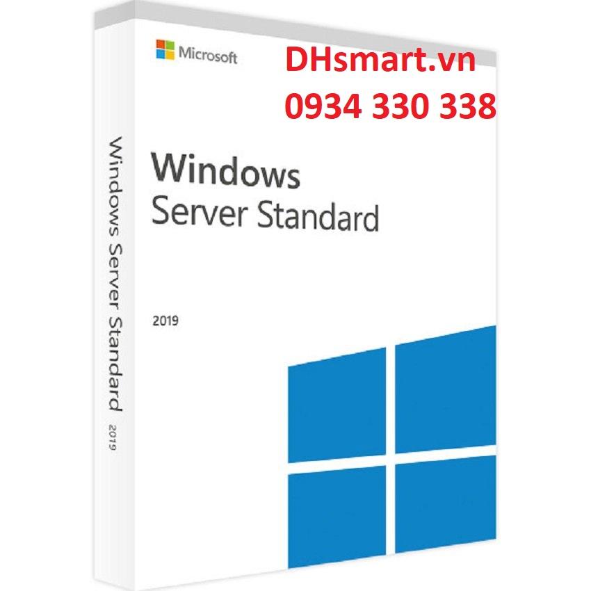 Windows Server Std 2019 64Bit English 1pk DSP OEI DVD 16 Core bản quyền - P73-07788